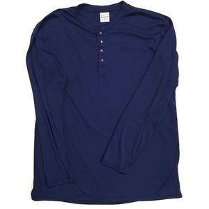 Patagonia Capilene Blue Vintage Long Sleeve Shirt